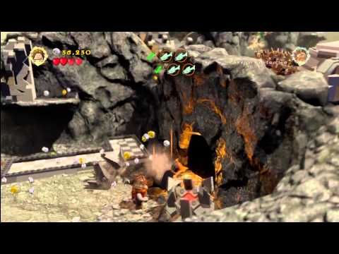 Lego Lord of the Rings: Level 7/Taming Gollum – FREE PLAY – All Collectables – HTG