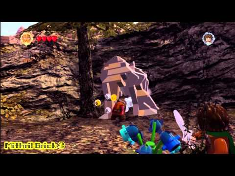Lego Lord of the Rings: Middle Earth Free Roam – Amon Hen Collectables – HTG – YouTube thumbnail