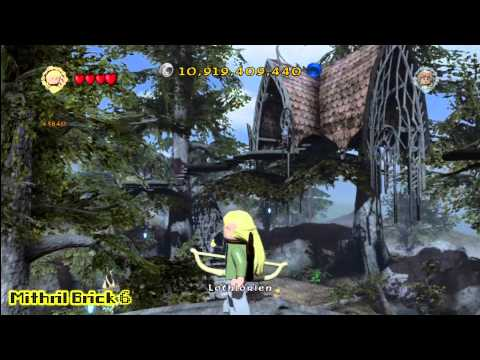 Lego Lord of the Rings: Middle Earth Free Roam – Lothlorien Collectables – HTG – YouTube thumbnail