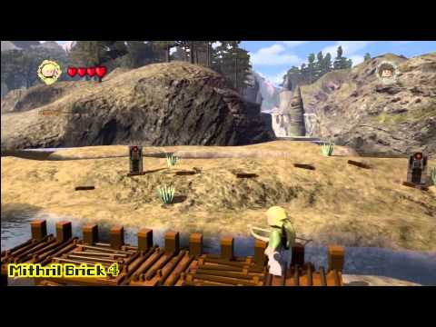 Lego Lord of the Rings: Middle Earth Free Roam – Minas Tirith Collectables – HTG – YouTube thumbnail