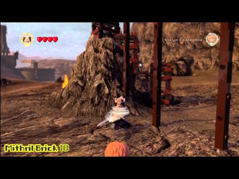 Lego Lord of the Rings: Middle Earth Free Roam – The Black Gate Collectables – HTG – YouTube thumbnail