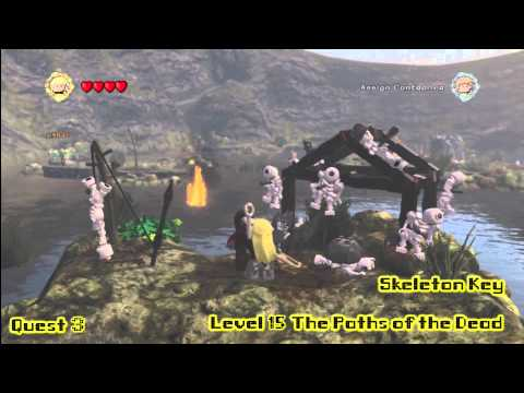 Lego Lord of the Rings: Middle Earth Free Roam – The Dead Marshes Collectables – HTG – YouTube thumbnail