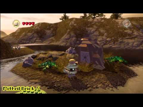 Lego Lord of the Rings: Middle Earth Free Roam – The Pass of Caradhras Collectables – HTG – YouTube thumbnail