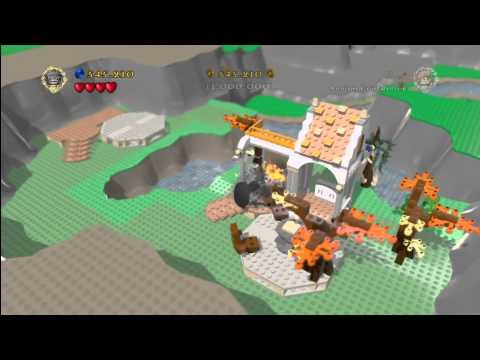 Lego Lord of the Rings: Secret/Bonus Level – The Lord of the Ring Trophy/Achievement – HTG