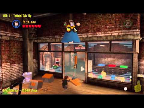 Lego Marvel Super Heroes: HUB 1 Tabloid Tidy Up – Story Walkthrough – HTG