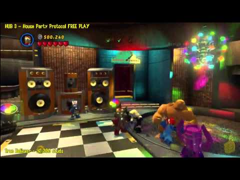 Lego Marvel Super Heroes: HUB 3 House Party Protocol – FREE PLAY – HTG