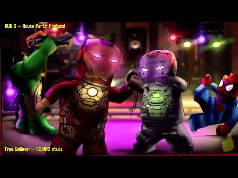Lego Marvel Super Heroes: HUB 3 House Party Protocol – Story Walkthrough – HTG