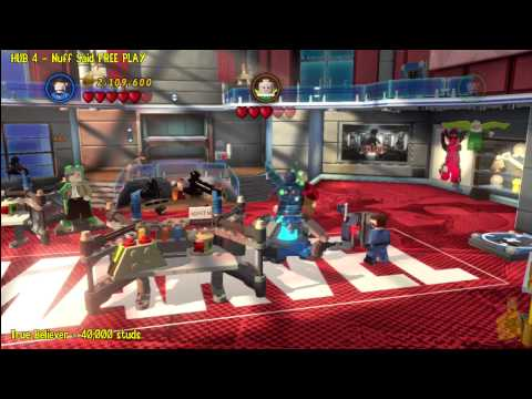 Lego Marvel Super Heroes: HUB 4 Nuff Said – FREE PLAY – HTG