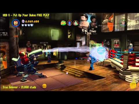 Lego Marvel Super Heroes: HUB 6 Put Up Your Dukes – FREE PLAY – HTG