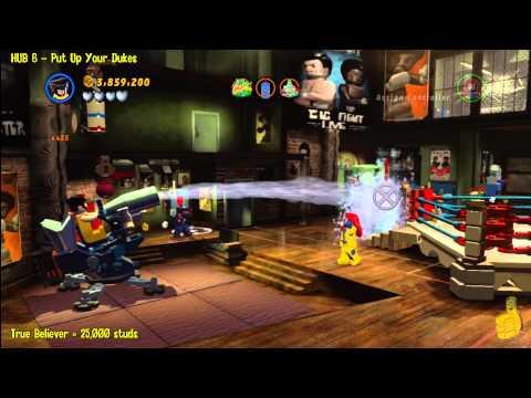 Lego Marvel Super Heroes:  HUB 6 Put Up Your Dukes – Story Walkthrough – HTG