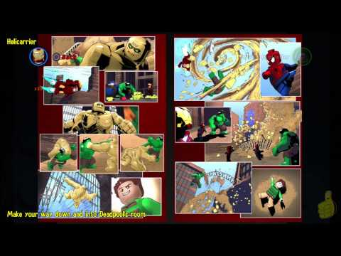 Lego Marvel Super Heroes: Its Me Time Trophy/Achievement – HTG – YouTube thumbnail