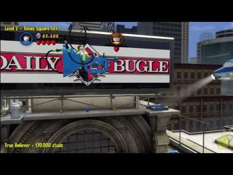 Lego Marvel Super Heroes: Level 2 Times Square Off – Story Walkthrough – HTG