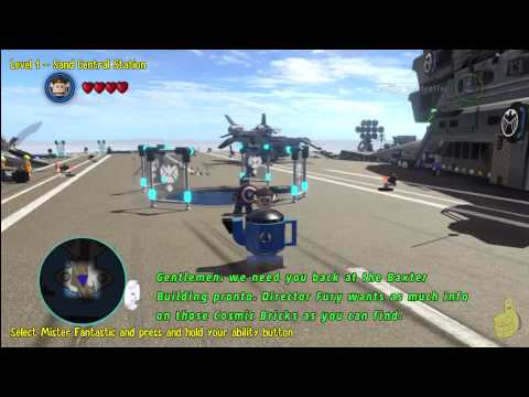 Lego Marvel Super Heroes: This Is Fantastic! Trophy/Achievement – HTG