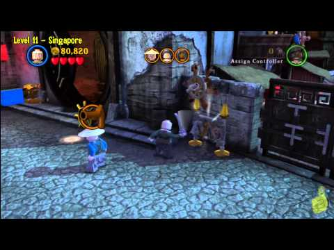 Lego Pirates of the Caribbean: Level 11 Singapore – Story Walkthrough – HTG