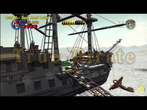 Lego Pirates of the Caribbean: Level 12 Davy Jones Locker – Story Walkthrough – HTG