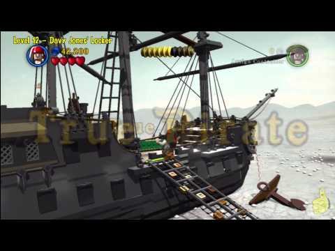 Lego Pirates of the Caribbean: Level 12 Davy Jones Locker – Story Walkthrough – HTG