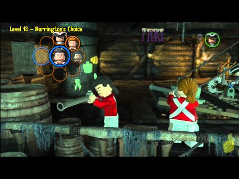 Lego Pirates of the Caribbean: Level 13 Norringtons Choice – Story Walkthrough – HTG