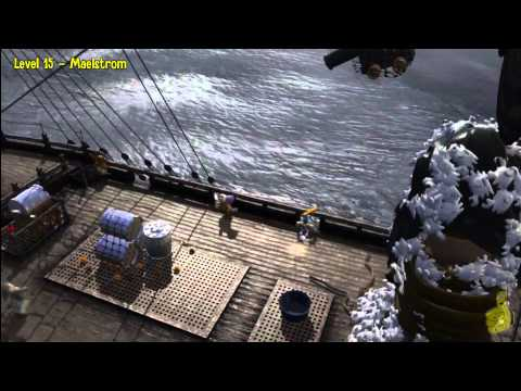 Lego Pirates of the Caribbean: Level 15 Maelstrom – Story Walkthrough – HTG