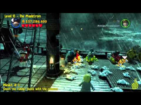 Lego Pirates of the Caribbean: Level 15 The Maelstrom – FREE PLAY (Minikits and Compass Items) – HTG