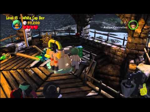 Lego Pirates of the Caribbean: Level 18 White Cap Bay – Story Walkthrough – HTG