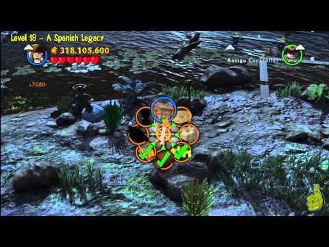 Lego Pirates of the Caribbean: Level 19 A Spanish Legacy – FREE PLAY (Minikits and Compass) – HTG