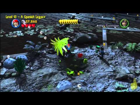 Lego Pirates of the Caribbean: Level 19 A Spanish Legacy – Story Walkthrough – HTG