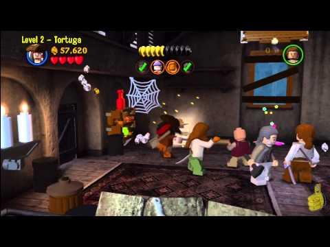Lego Pirates of the Caribbean: Level 2 Tortuga – Story Walkthrough – HTG