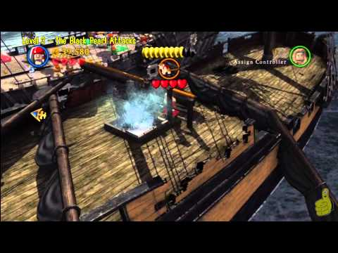 Lego Pirates of the Caribbean: Level 3 The Black Pearl Attacks – Story Walkthrough – HTG