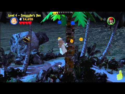 Lego Pirates of the Caribbean: Level 4 Smugglers Den – Story Walkthrough – HTG
