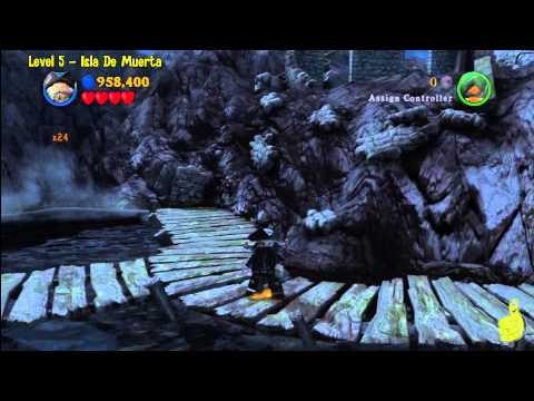 Lego Pirates of the Caribbean: Level 5 Isla De Muerta – FREE PLAY (Minikits & Compass Items) – HTG