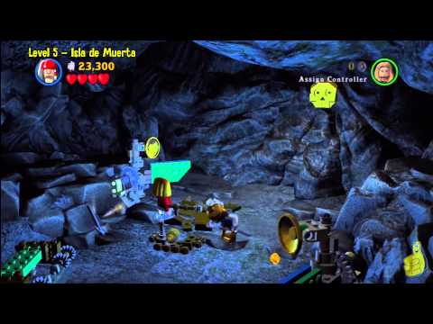 Lego Pirates of the Caribbean: Level 5 Isla De Muerta – Story Walkthrough – HTG