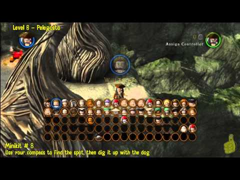 Lego Pirates of the Caribbean: Level 6 Pelegosto – FREE PLAY (Minikits and Compass Items) – HTG