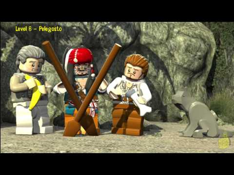 Lego Pirates of the Caribbean: Level 6 Pelegosto – Story Walkthrough – HTG