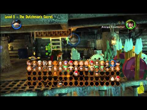 Lego Pirates of the Caribbean: Level 8 The Dutchman's Secret – FREE PLAY (Minikits & Compass) – HTG