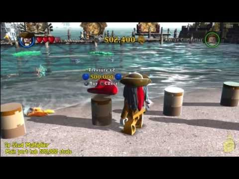 Lego Pirates of the Caribbean: Red Hat Stud Multiplier Locations – HTG