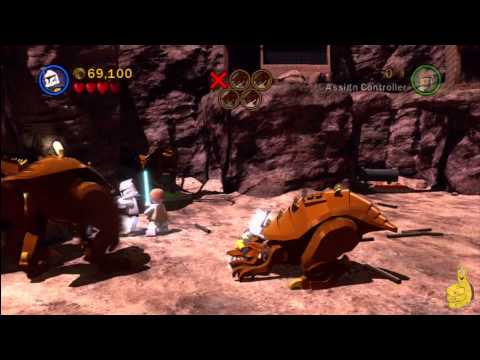 LEGO Star Wars 3: Asajj Ventress Chapter 5 (Innocents of Ryloth) Story Walkthrough – HTG