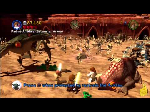 LEGO Star Wars 3 The Clone Wars: Geonosian Arena (Prologue) Story Walkthrough – HTG