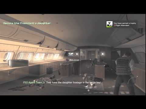 Modern Warfare 3: Flight Attendant Trophy/Achievement – HTG