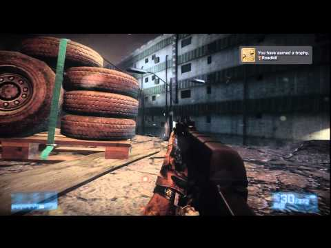 Battlefield 3 Roadkill Trophy / Achievement HTG