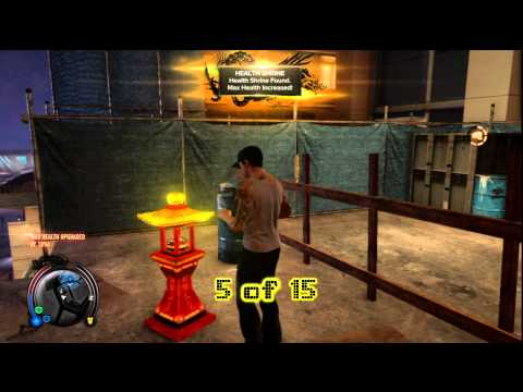 Sleeping Dogs: Health Shrines Central 15/15 – HTG