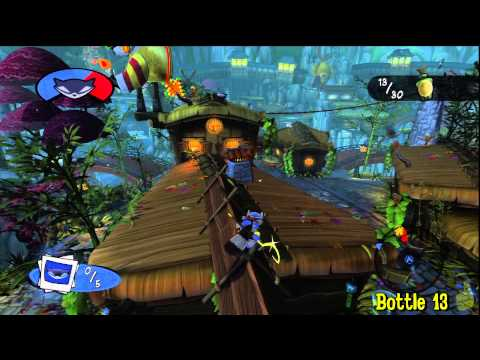 Sly Cooper Thieves in Time: Episode 1 – Photo Op – All 30 Bottles – HTG – YouTube thumbnail