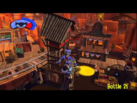 Sly Cooper Thieves in Time: Episode 2 – Cotton Mouth Bluff –  All 30 Bottles – HTG