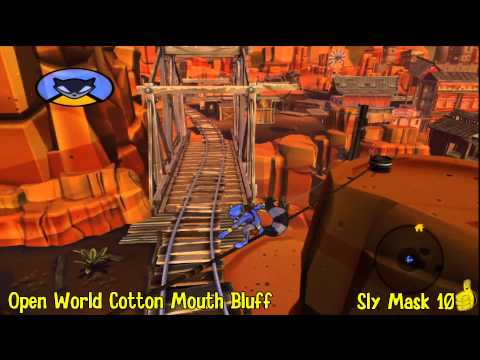 Sly Cooper Thieves in Time: Episode 2 – Cotton Mouth Bluff Sly Mask Locations – HTG – YouTube thumbnail
