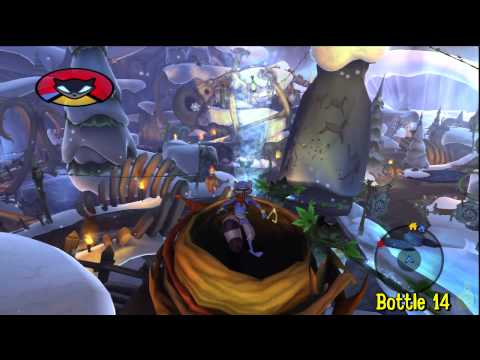 Sly Cooper Thieves in Time: Episode 3 – Gungathal Valley – All 30 Bottles – HTG