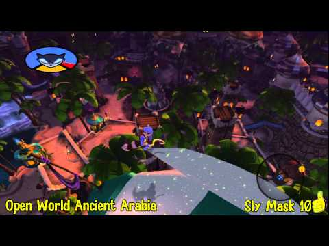 Sly Cooper Thieves in Time: Episode 5 – Ancient Arabia Sly Mask Locations – HTG – YouTube thumbnail