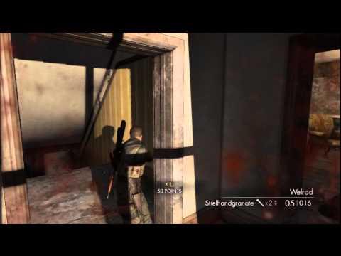 Sniper Elite Demo Play through 2 – HTG