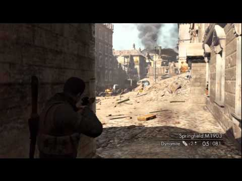 Sniper Elite V2: Get Off The Ground Trophy/Achievement – HTG