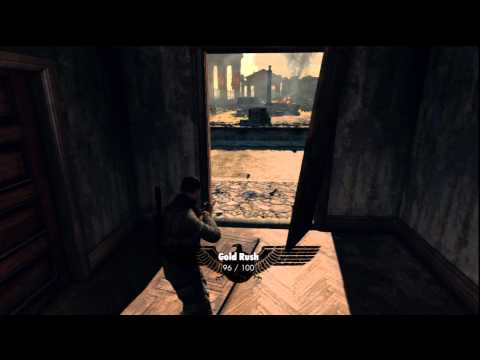 Sniper Elite V2: Level 10 Walkthrough and Jungle Juice/Gold Rush Trophy/Achievements – HTG
