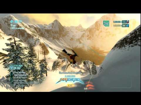 SSX: High Score / Trick Tutorial – HTG