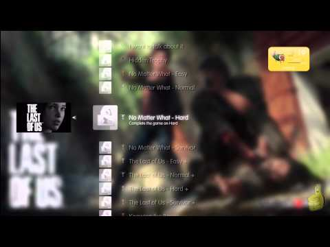 The Last of Us:Trophy List Verified (Only 24 Trophies including the Platinum trophy!) – HTG